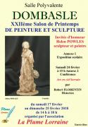 Salon de Printemps Peinture et Sculpture à Dombasle 54110 Dombasle-sur-Meurthe du 17-02-2018 à 14:00 au 25-02-2018 à 18:00