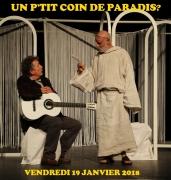 Spectacle un P'tit Coin d'Paradis à Villerupt 54190 Villerupt du 19-01-2018 à 20:30 au 19-01-2018 à 22:00