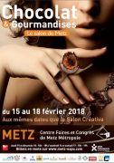 Salon du Chocolat à Metz Chocolat et Gourmandises 57000 Metz du 15-02-2018 à 10:00 au 18-02-2018 à 19:00