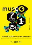Cartes et Pass Museo Nancy vos Expos Illimitées 54000 Nancy du 01-06-2018 à 07:00 au 31-12-2019 à 23:59