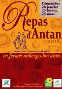 Repas d'Antan Fermes Auberges Lorraine
