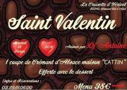 Saint Valentin à La Croisette d'Hérival  88340 Girmont-Val-d'Ajol du 14-02-2018 à 18:30 au 15-02-2018 à 02:00