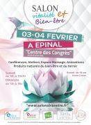 Salon Vitalité Bien-être à Epinal 88000 Epinal du 03-02-2018 à 10:00 au 04-02-2018 à 18:00