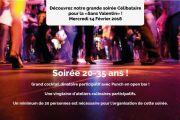 Soirée Célibataire Saint Valentin à Metz 57000 Metz du 14-02-2018 à 19:00 au 14-02-2018 à 23:00