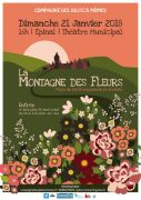 Spectacle La Montagne des Fleurs à Epinal 88000 Epinal du 21-01-2018 à 16:00 au 21-01-2018 à 17:00