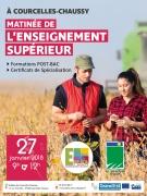 Matinée Enseignement Supérieur Agricole en Moselle 57530 Courcelles-Chaussy du 27-01-2018 à 09:00 au 27-01-2018 à 12:00