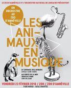Les Animaux en Musique au Zoo d'Amnéville 57360 Amnéville du 23-02-2018 à 20:00 au 23-02-2018 à 22:00