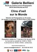 Exposition Clins d'Œil sur le Monde à Saint-Nicolas-de-Port 54210 Saint-Nicolas-de-Port du 11-01-2018 à 14:00 au 28-02-2018 à 17:00