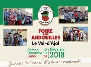 La Foire aux Andouilles au Val d'Ajol 88340 Le Val-d'Ajol du 17-02-2018 à 10:00 au 19-02-2018 à 18:00