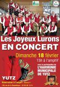 Concert Anniversaire des Joyeux Lurons de Yutz 57970 Yutz du 18-02-2018 à 15:00 au 18-02-2018 à 18:00