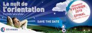 Nuit de l'Orientation à Epinal 88000 Epinal du 09-02-2018 à 16:30 au 09-02-2018 à 21:30