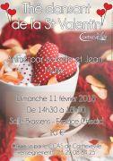 Thé Dansant Saint Valentin Contrexéville 88140 Contrexéville du 11-02-2018 à 14:30 au 11-02-2018 à 18:30