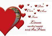 Menu Saint Valentin à Lachaussée Domaine Vieux Moulin 55210 Lachaussée du 14-02-2018 à 19:30 au 14-02-2018 à 21:30