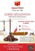 Soirée Dégustation Chocolat à Nancy 54000 Nancy du 16-02-2018 à 20:00 au 16-02-2018 à 21:30
