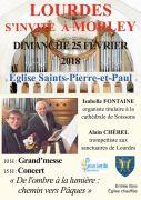 Concert Lourdes s'invite à Morley 55290 Morley du 25-02-2018 à 15:00 au 25-02-2018 à 16:30
