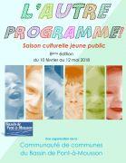 Festival Théâtre Jeune Public Pont-à-Mousson 54700 Pont-à-Mousson du 10-02-2018 à 10:30 au 12-05-2018 à 10:30
