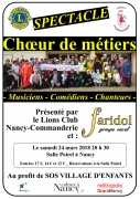Concert Faridol à Nancy