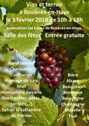 Foire aux Vins Produits du Terroir à Rosières-en-Haye 54385 Rosières-en-Haye du 03-02-2018 à 10:00 au 03-02-2018 à 18:00