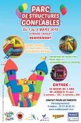Structures Gonflables à Remiremont 88200 Remiremont du 01-03-2018 à 13:30 au 04-03-2018 à 19:00