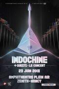 Concert Indochine au Zénith de Nancy 54320 Maxéville du 23-06-2018 à 18:30 au 23-06-2018 à 23:00