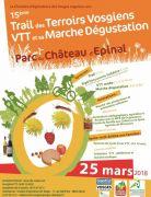 Trail des Terroirs Vosgiens à Epinal 88000 Epinal du 25-03-2018 à 08:00 au 25-03-2018 à 17:00