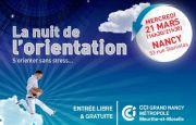 Nuit de l'Orientation à Nancy 54000 Nancy du 21-03-2018 à 16:30 au 21-03-2018 à 21:30