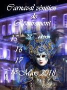 Séjour Carnaval Vénitien Remiremont 88200 Remiremont du 16-03-2018 à 09:00 au 18-03-2018 à 22:00