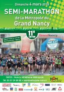 Semi-Marathon Grand Nancy 2018 54000 Nancy du 04-03-2018 à 10:00 au 04-03-2018 à 13:00