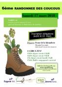 Randonnée des Coucous à Bainville-sur-Madon 54550 Bainville-sur-Madon du 17-03-2018 à 13:30 au 17-03-2018 à 19:00