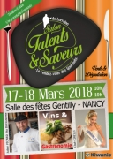 Salon Talents et Saveurs de Lorraine à Gentilly Nancy 54000 Nancy du 17-03-2018 à 10:00 au 18-03-2018 à 19:00