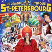 Grand Cirque de Saint-Petersbourg à Sarreguemines 57200 Sarreguemines du 28-03-2018 à 14:30 au 28-03-2018 à 18:00