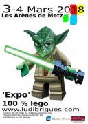 Expo 100% Lego à Metz 57000 Metz du 03-03-2018 à 10:00 au 04-03-2018 à 18:00