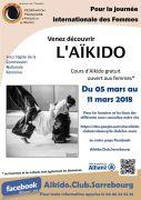 Découverte Aïkido à Sarrebourg 57400 Sarrebourg du 05-03-2018 à 19:30 au 11-03-2018 à 21:00