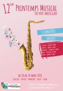 12e Printemps Musical en Pays Mosellan à Cattenom et Mondorf 57570 Cattenom du 10-03-2018 à 20:30 au 24-03-2018 à 22:30