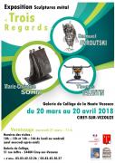 Exposition Sculptures Métal à Cirey-sur-Vezouze 54480 Cirey-sur-Vezouze du 20-03-2018 à 10:00 au 20-04-2018 à 16:00