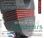 Week-end des Créateurs à Villers-lès-Nancy