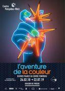 Exposition l'Aventure de la Couleur Centre Pompidou-Metz