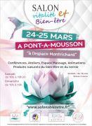 Salon Vitalité Bien-être à Pont-à-Mousson 54700 Pont-à-Mousson du 24-03-2018 à 10:00 au 25-03-2018 à 18:00