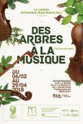 Exposition Arbres et Musique au Jardin Botanique Nancy 54600 Villers-lès-Nancy du 06-02-2018 à 09:30 au 29-04-2018 à 17:45