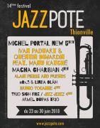 Jazzpote Festival à Thionville  57100 Thionville du 01-06-2018 à 20:00 au 30-06-2018 à 23:00