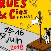 Festival Rues et Cies à Epinal 88000 Epinal du 15-06-2018 à 18:00 au 17-06-2018 à 22:00