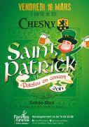 Soirée Concert Saint-Patrick à Chesny 57245 Chesny du 16-03-2018 à 19:00 au 17-03-2018 à 01:00
