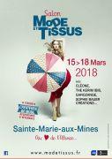 Salon Mode et Tissus à Sainte-Marie-Aux-Mines 68160 Sainte-Marie-aux-Mines du 15-03-2018 à 09:30 au 18-03-2018 à 18:00