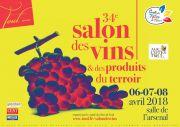 Salon des Vins et Produits du Terroir de Toul 54200 Toul du 06-04-2018 à 14:00 au 08-04-2018 à 18:00