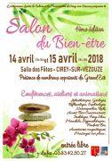 Salon Bien-Être à Cirey-sur-Vezouze 54480 Cirey-sur-Vezouze du 14-04-2018 à 13:00 au 15-04-2018 à 18:00