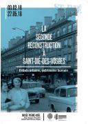 Exposition Seconde Reconstruction de Saint-Dié-des-Vosges 88100 Saint-Dié-des-Vosges du 03-02-2018 à 10:00 au 27-05-2018 à 18:00