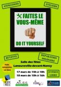 Journées Do It Yourself à Laneuveville-devant-Nancy 54410 Laneuveville-devant-Nancy du 17-03-2018 à 14:00 au 18-03-2018 à 16:00