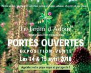 Portes Ouvertes au Jardin d'Adoué Lay Saint-Christophe 54690 Lay-Saint-Christophe du 14-04-2018 à 10:00 au 15-04-2018 à 18:00