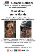 Exposition Clins d'Oeil sur le Monde Saint-Nicolas-de-Port 54210 Saint-Nicolas-de-Port du 07-03-2018 à 14:00 au 29-04-2018 à 18:30