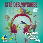 Programme 2018 Cité des Paysages à Sion